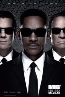 Men in Black 3 - saw this at the cinema yesterday and really enjoyed it. Josh Brolin is perfect casting as a young Agent K, and Alice Eve as a young O