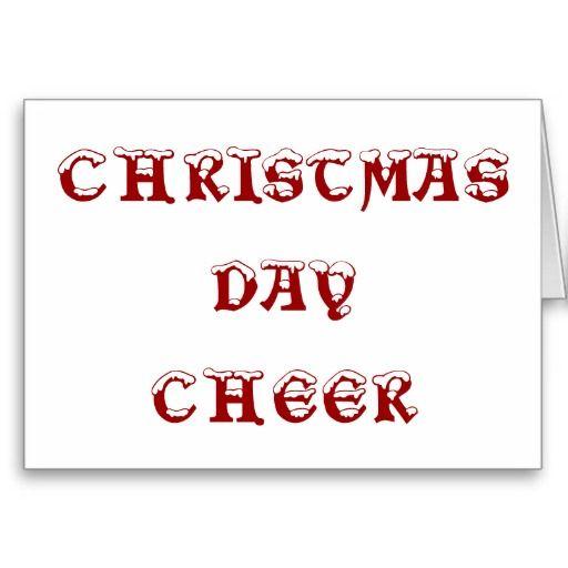 CHRISTMAS DAY CHEER / Tis' the season. #Christmas #ChristmasCards #holidays #Opal01 #USA #global