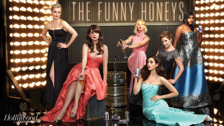 Inside THR's Comedy Actress Roundtable With Taylor Schilling, Zooey Deschanel, Mindy Kaling