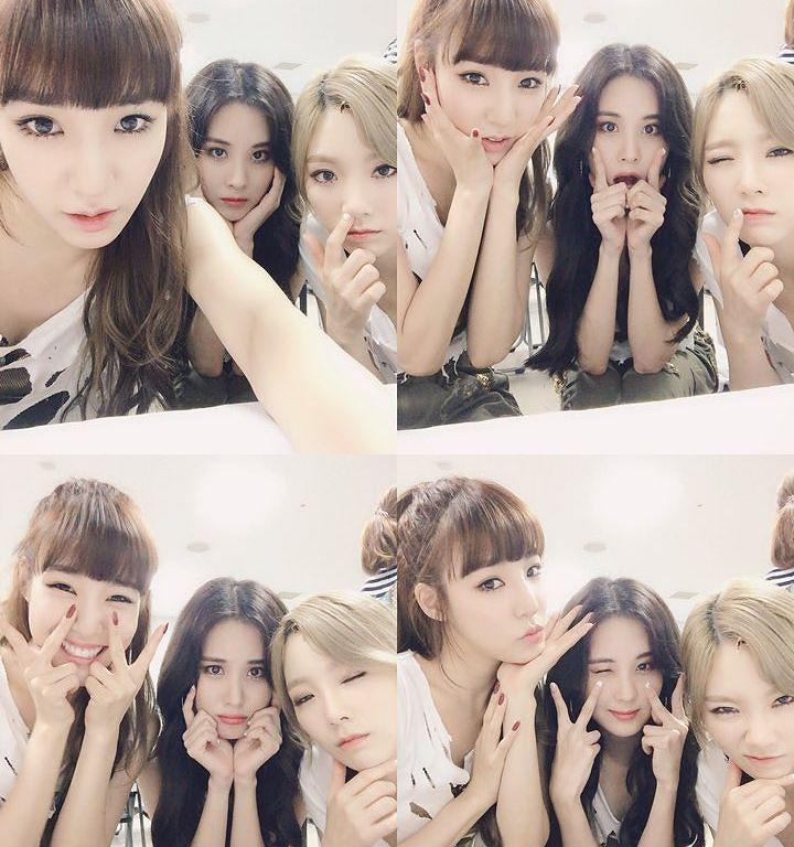 Tiffany, Seohyun, and Taeyeon, TaeTiSeo