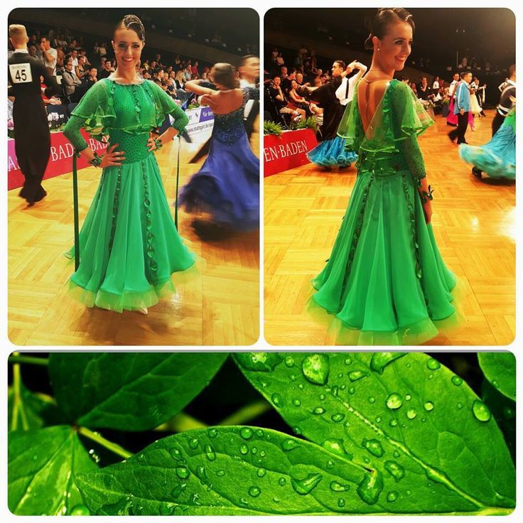 Amazing deep green and shiny dlk ST dress for sale!!! #green #dlk #creative #standard_dress #ballroom #dress_for _sale