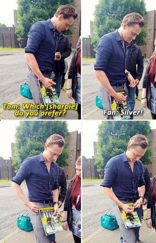 omg he even asked her what sharpie she would like this guys is so perfect i cant even