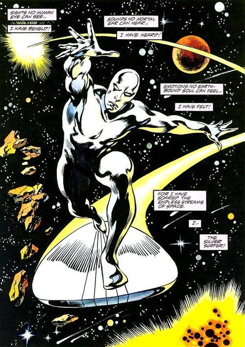The Silver Sufer by John Buscema