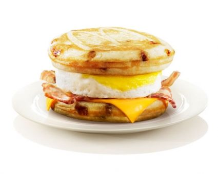McDonald's McGriddle Recipe | The Daily Meal. For christmas morning, since I can't do justice to my mother in law's delicious apple pancakes.