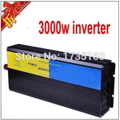 Free shipping 3000W Pure Sine Wave Power Inverter, 24v to 230v power converter #Affiliate