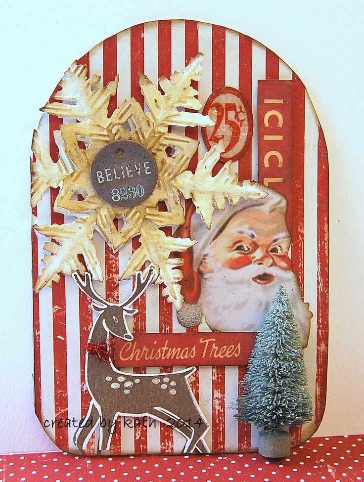 #papercraft #tag for #scrapbooking, #giftwrapping, etc.  Kath's Blog......diary of the everyday life of a crafter