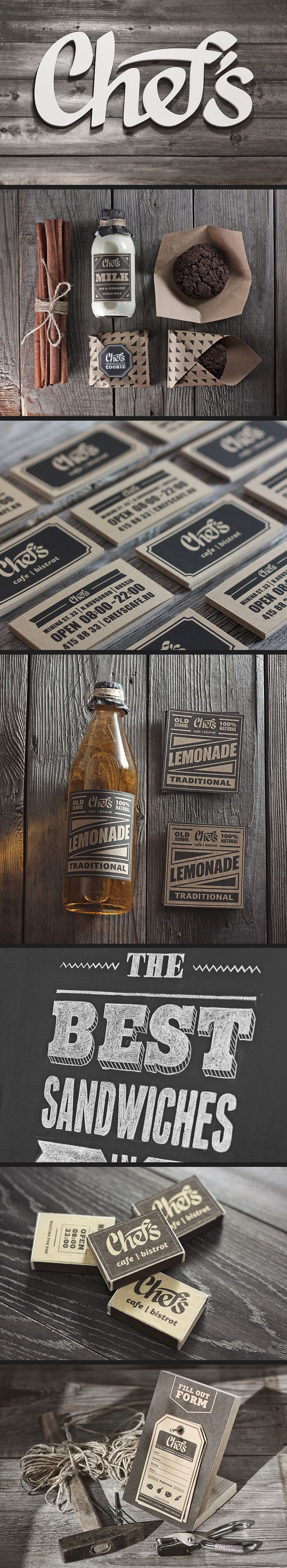 Chef's #packaging #branding #marketing PD