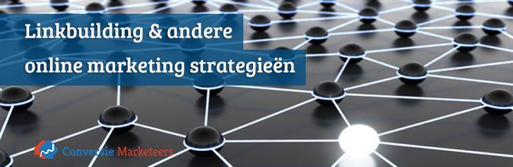 """'Linkbuilding kan erg effectief zijn voor een website. Gecombineerd met andere marketing strategieën kan er vaak meer bereikt worden dan met linkbuilding alleen. Er bestaan dan ook talloze andere online marketing strategieën die prima samen gaan met linkbuilding.""""  Lees er alles over in ons laatste blogartikel:   http://conversiemarketeers.nl/nl/blog/zoekmachine-optimalisatie/linkbuilding-en-andere-online-marketing-strategiee/  #linkbuilding #seo #blog"""