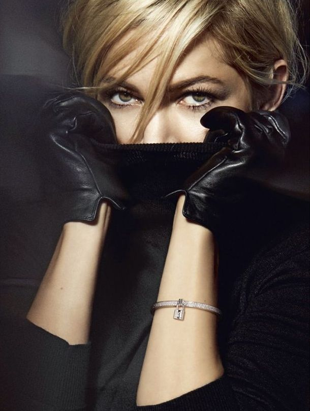 """sexyqueen: """"Michelle Williams for Louis Vuitton Jewelry  """" :-)"""