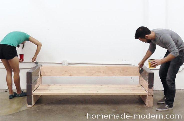 HomeMade Modern DIY EP70 Outdoor Sofa Step 8