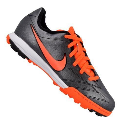Nike Jr T90 Shoot IV Turf Shoe [Black] (10.5C) Nike. $43.30. Released Spring 2013. Size 10.5C Youth Turf Shoes. Authentic Nike Gear Guarantee. synthetic-and-leather. Synthetic leather designed for fit and comfort
