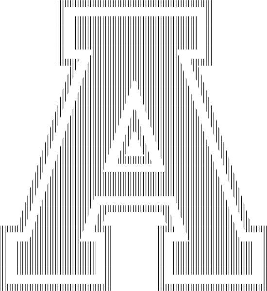 Book folding – single letters | scrappystickyinkymess