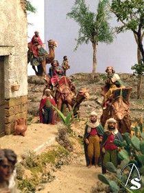 Galería. Belén de la Parroquia de Sta. María de las Flores y San Eugenio Papa de la barriada de Pio XII. Antonio Rendón