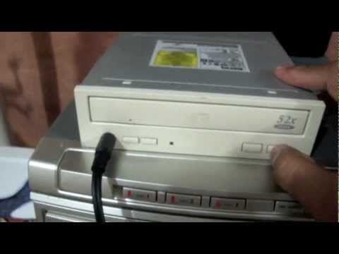  Como Reutilizar el lector de CD de tu pc Vieja  - YouTube
