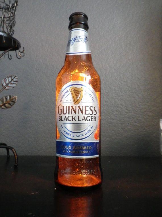 Guinness Black Beer Bottle Light. by BottleServiceLights on Etsy, $15 ...