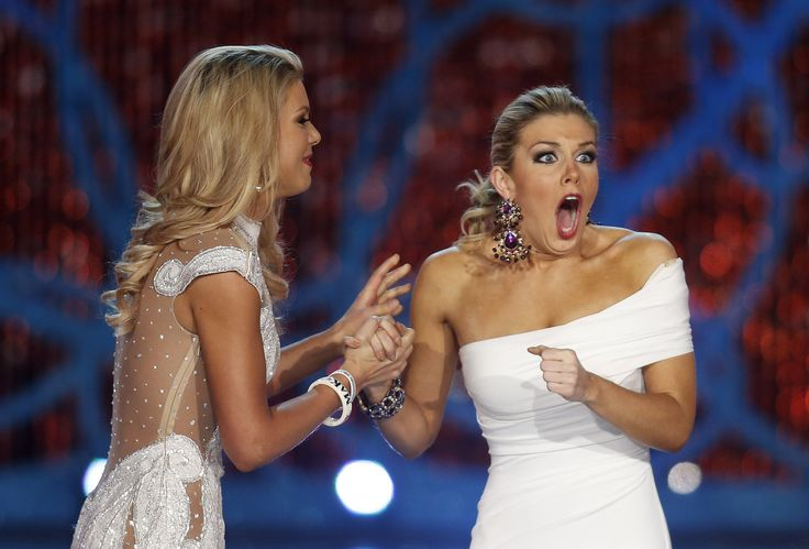 Mallory Hagan, Miss New York, Wins Miss America 2013- Priceless Reaction