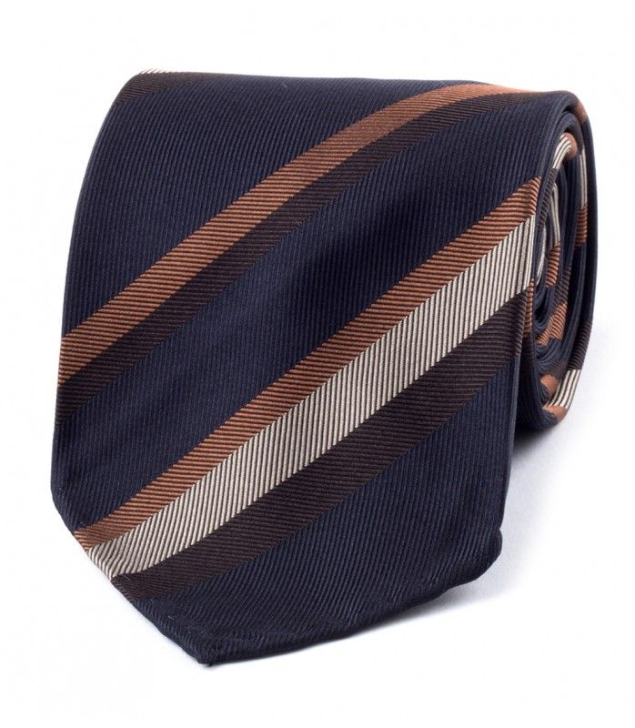 68 best striped ties images on pinterest striped ties charles navybrown woven stripe washed jacquard silk tie ccuart Images