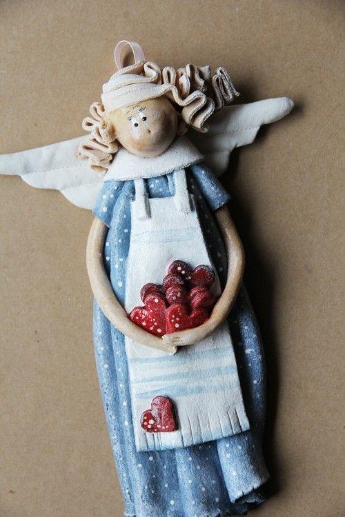 anioły i figurki-ZAMOWIENIE - Love You too