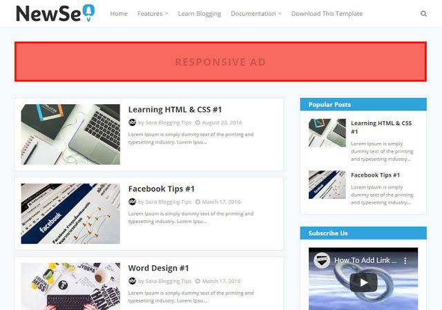 New Seo Blogger Template In 2020 Free Blogger Templates Blogger Templates Blogspot Template