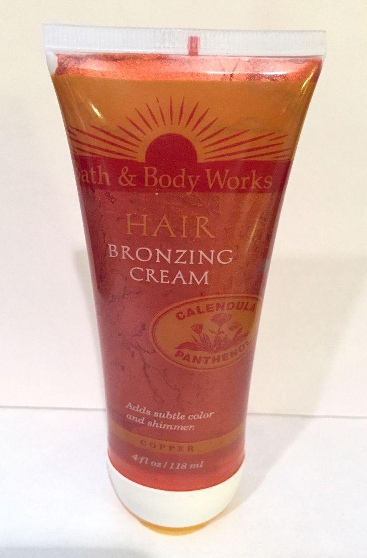 Bath Amp Body Works Hair Bronzing Cream 1990s