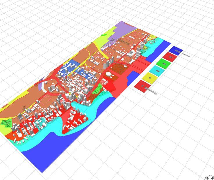 FEMA Flood Zone map in a 3D webscene (Miami)