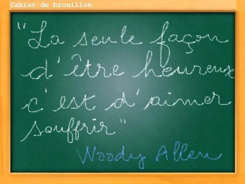 Citations de Woody Allen, ça calme !