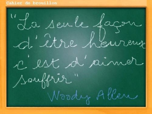 Citations de Woody Allen, ça calme !