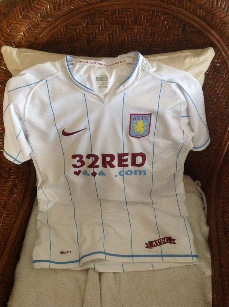 nike aston villa england premier league soccer jersey size XL youth | Sports Mem, Cards & Fan Shop, Fan Apparel & Souvenirs, Soccer-International Clubs | eBay!