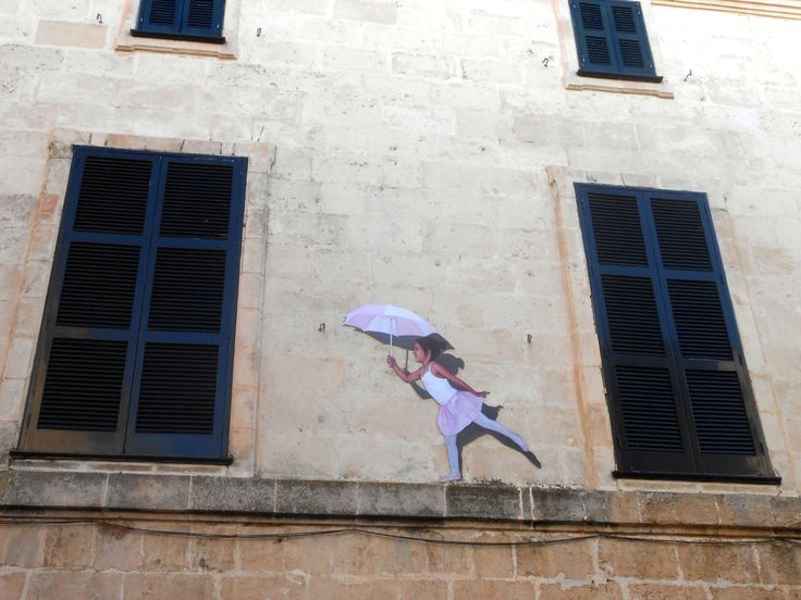 Decoración calles de Ciutadella verano 2014