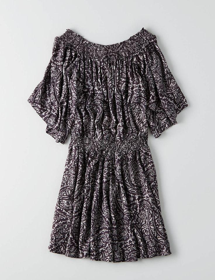 flutter sleeve dress...