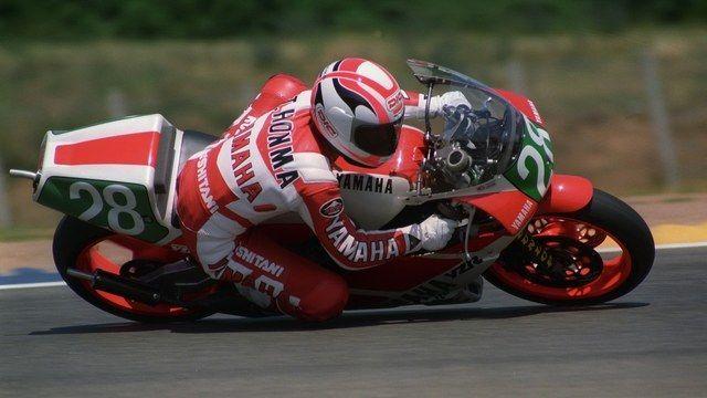 Toshihiko Honma - Yamaha 250 cc - GP France Le Mans 1989