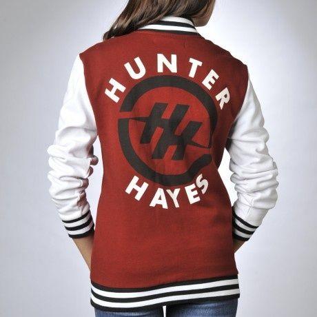 Hunter Hayes Letterman Jacket. have it!!! ♡♡♡♡