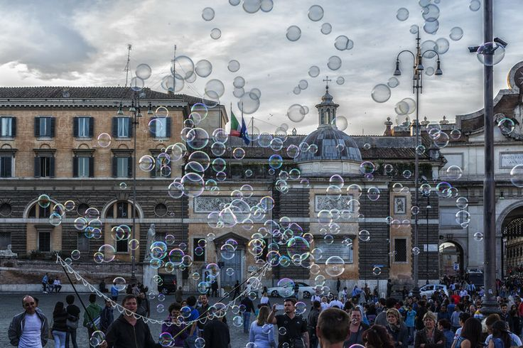 Piazza del Bubble by Giorgio Tedone on 500px