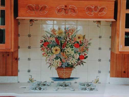 11 best custom ceramic tile backsplash images on Pinterest ...