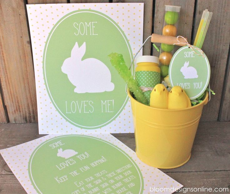 116 best easter ideas we love images on pinterest easter ideas make it monday some bunny loves you buckets with crinkle shred http negle Images