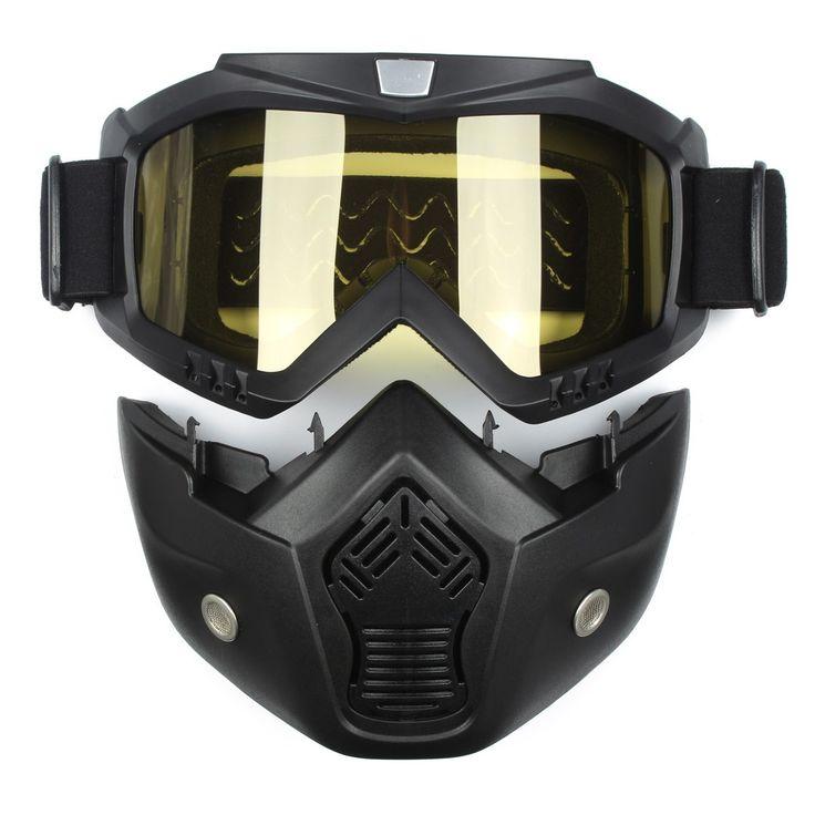 Ski Skate Motorcycle Goggle Motocross Goggles Helmet Glasses Windproof off Road Moto Cross Helmets Mask Goggles