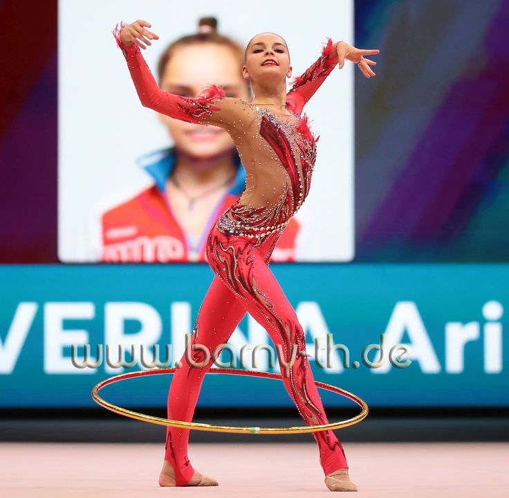 Arina AVERINA (Russia) ~ Hoop @ World Cup Baku-Azerbaijan 28-30/04/'17 Photographer Bernd Thierolf.