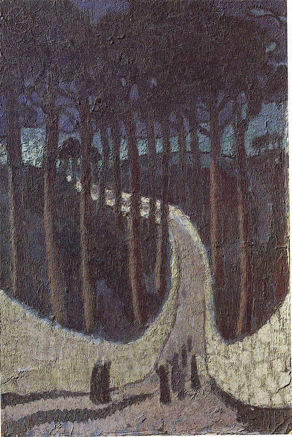 Musée Maurice Denis - Chemin dans les arbres