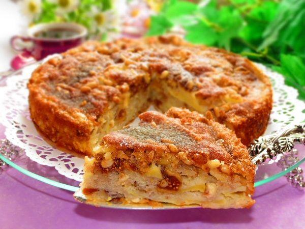 Ароматный Сицилийский яблочный торт - 1000