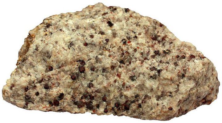 Peraluminous Granite With Garnet Phenocrysts Granites