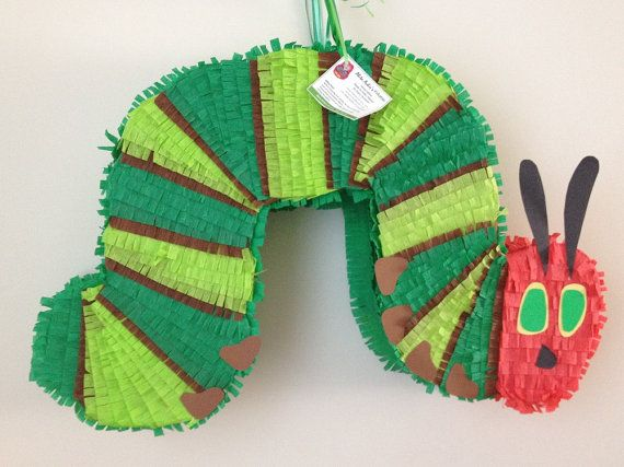 Very Hungry Caterpillar Pinata by AbitaAchie on Etsy