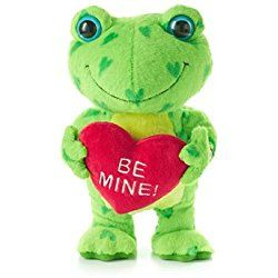 Hearts a-Hoppin' Plush Frog (Hallmark Valentine's Day 2014)