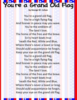 Classroom Freebies: Patriotic Song Freebies