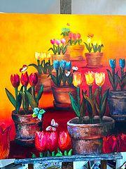 Des fleurs, des fleurs des fleurs…. Henriette Capretti