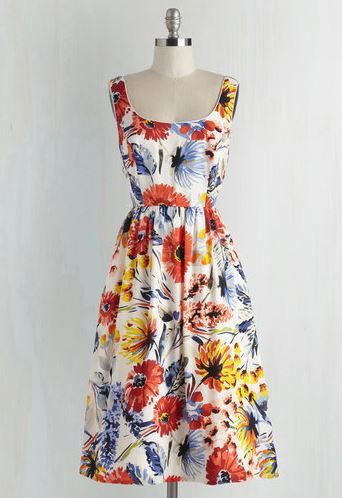 Pretty dress to wear to a summer wedding