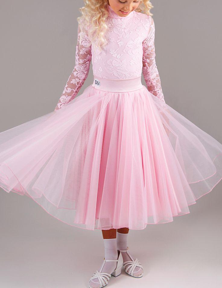 DSI Milly Juvenile Ballroom Dance Skirt 1095J