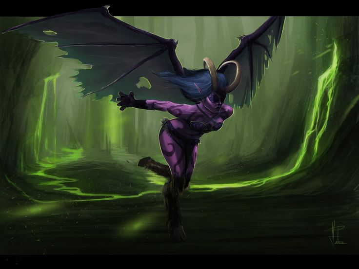 The Legion Demon Hunter by TheMeszka.deviantart.com on @DeviantArt