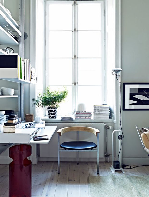 Swedish Photographer Jonas Ingerstedt's Home: Jonas Ingerstedt S, Interior Design, Chair, Swedish Photographer, Interiors, Work Spaces, Workspaces, Home Offices