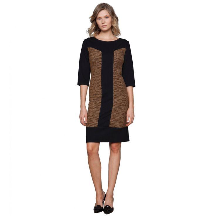 Φόρεμα Σανέλ με φάσες Ελαστικό (5069)