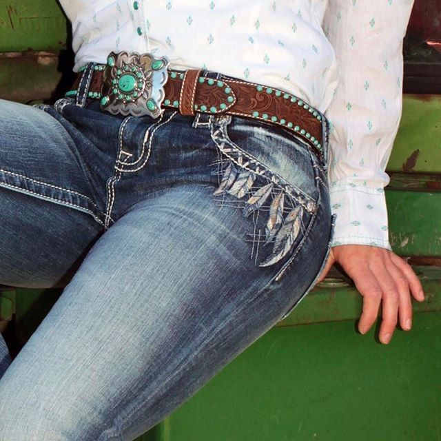 If feathers don't ruffle, nothing flies. Cute Miss Me Jeans